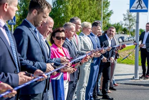 Ulica Nowa Kazimierska otwarta