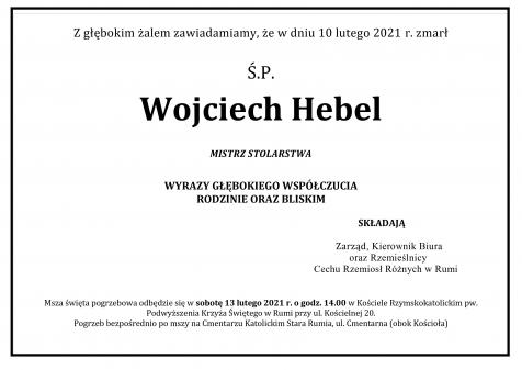 Pogrzeb Śp. Pana Wojciecha Hebla